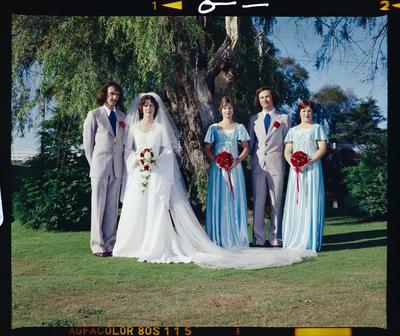 Negative: Pool-Quinn Wedding