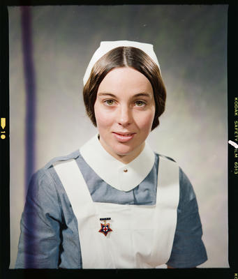 Negative: Miss Nicholas Nurse Portrait