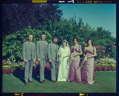 Negative: Radley-Innes Wedding