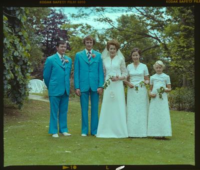 Negative: Riach-Stevenson Wedding