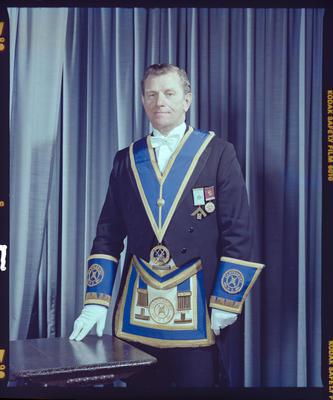 Negative: Mr J. B. Sloane Freemason Portrait