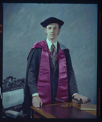 Negative: Mr T. Shannon Graduate