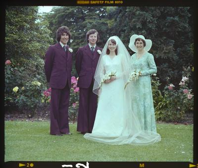 Negative: Thomas-Grenaway Wedding