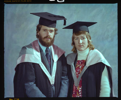 Negative: Mr and Mrs Tapper Graduates
