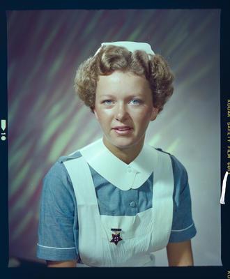 Negative: Miss J. Taylor Nurse Portrait
