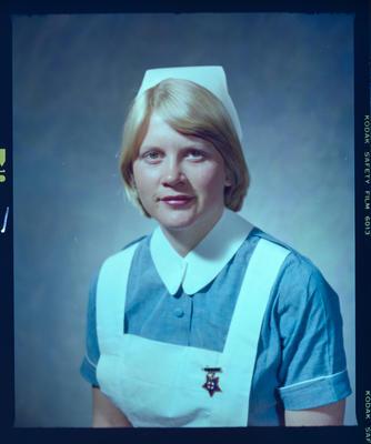 Negative: Miss Watson Nurse Portrait