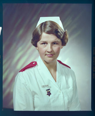 Negative: Miss J. Williams Nurse Portrait
