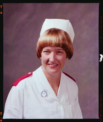Negative: M. A. Friswell Nurse Portrait
