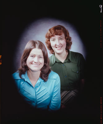 Negative: Miss Dawes and Miss Rhodes Headshot