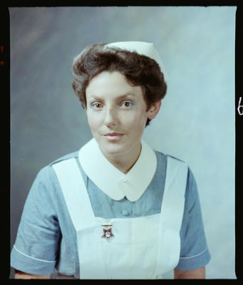 Negative: L. Hey or B. Roughan Nurse Portrait