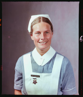 Negative: Miss I. Ouwerkerk Nurse Portrait