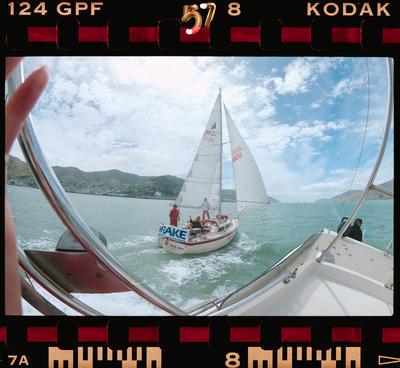 Negative: Amuri BMW Charity Yacht Race 1990