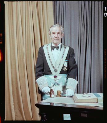 Negative: Mr R. Brant Freemason Portrait