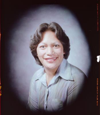 Negative: Miss M. M. J. Davis Headshot