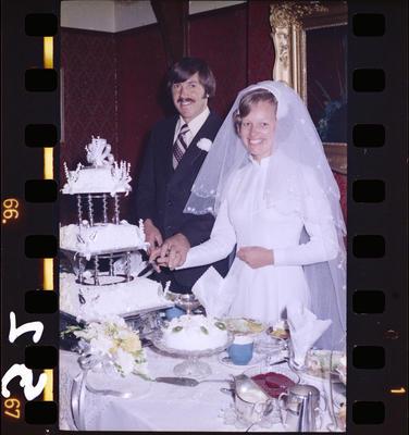 Negative: Collett-Forbes Wedding