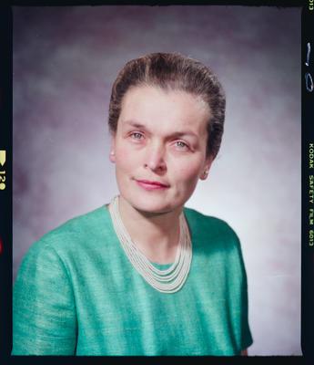 Negative: Mrs Hay Mayoress Portrait