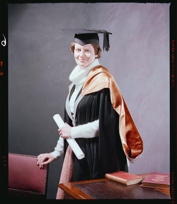 Negative: Miss H. Kennard Graduate