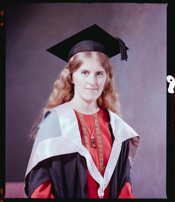 Negative: Miss J. Kingsbury Graduate