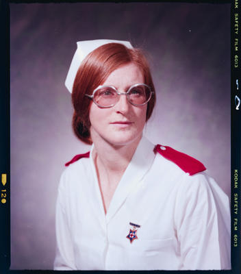 Negative: Mrs Jeffreys Nurse Portrait