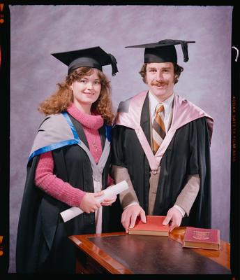 Negative: Mr and Mrs Shearer Graduates