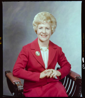 Negative: Mrs Taylor Portrait