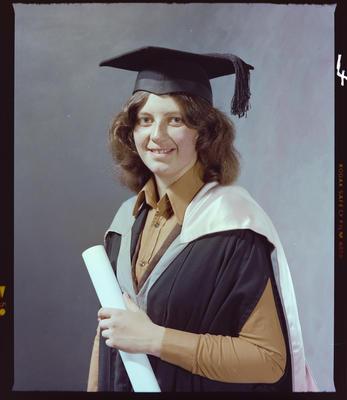 Negative: Miss K. Saville-Smith Graduate; 01 May 1978; 2019.10.1786