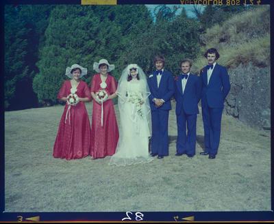 Negative: Wheelar-Griffen Wedding; 18 Feb 1978; 2019.10.1810