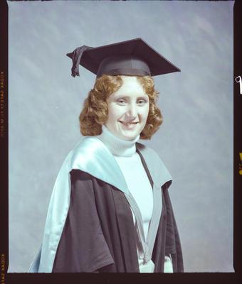 Negative: Miss J. E. Radford Graduate