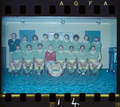 Negative: Paparoa Prison Football Team 1978