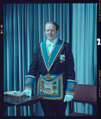 Negative: Mr A. J. Porter Freemason Portrait