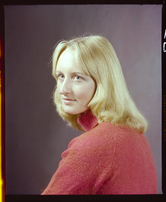 Negative: Miss N. Crawley Portrait