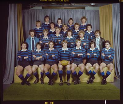 Negative: CBHS 2nd XV 1978