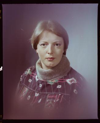 Negative: Miss H. Bennett Portrait