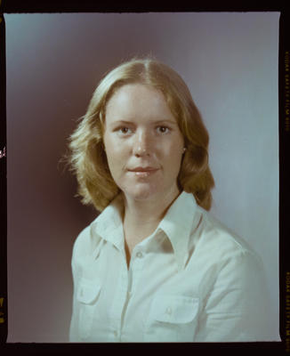 Negative: Miss L. Brown Portrait