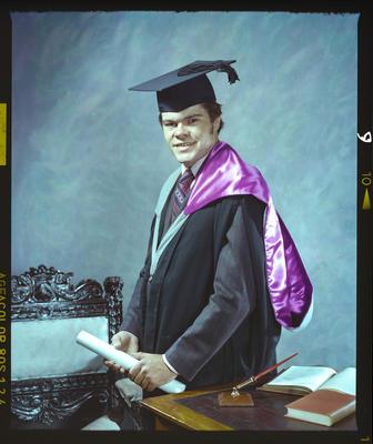 Negative: Mr A. J. Carter Graduate