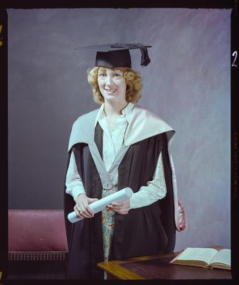 Negative: Miss M. Chapman Graduate