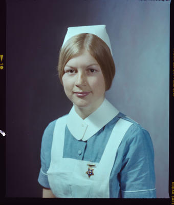 Negative: Miss Goodwin Nurse Portrait