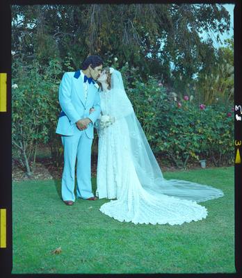 Negative: Pene-Healy Bride and Groom