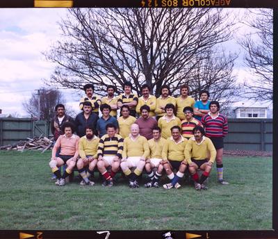 Negative: Christchurch Transport Board Football 1978