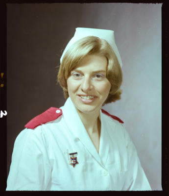 Negative: Miss K. Johnson Nurse Portrait