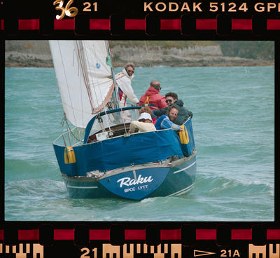 Negative: Amuri BMW Charity Yacht Race 1990