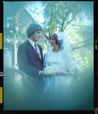 Negative: Kershaw-Dickson Bride and Groom