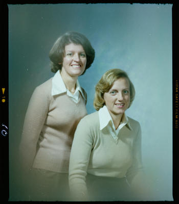 Negative: Miss A. Knight and Miss L. Whyte Portrait