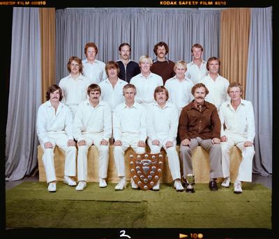 Negative: Cheviot Cricket Club 1979