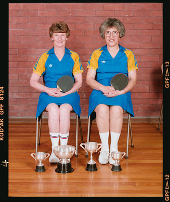 Negative: Christchurch Deaf Club Table Tennis Women