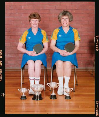Negative: Christchurch Deaf Club Table Tennis Women