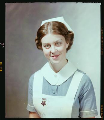 Negative: Miss Voysey Nurse Portrait