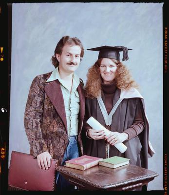 Negative: Mr and Mrs Aldous Graduate