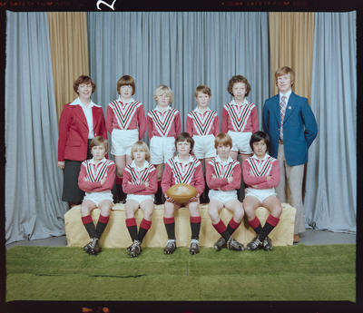 Negative: Riccarton Rugby League 9's 1978