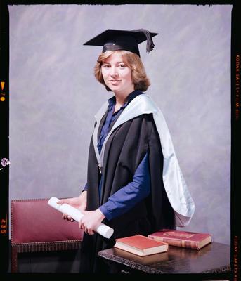 Negative: Miss Archibald Graduate